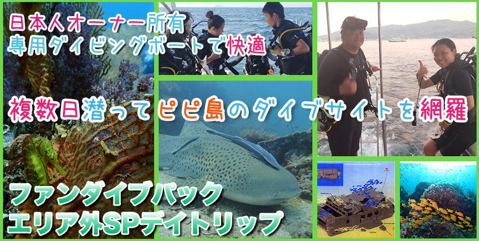 ピピ島ダイビング日本人 プーケット ダイビング タイ ダイビング